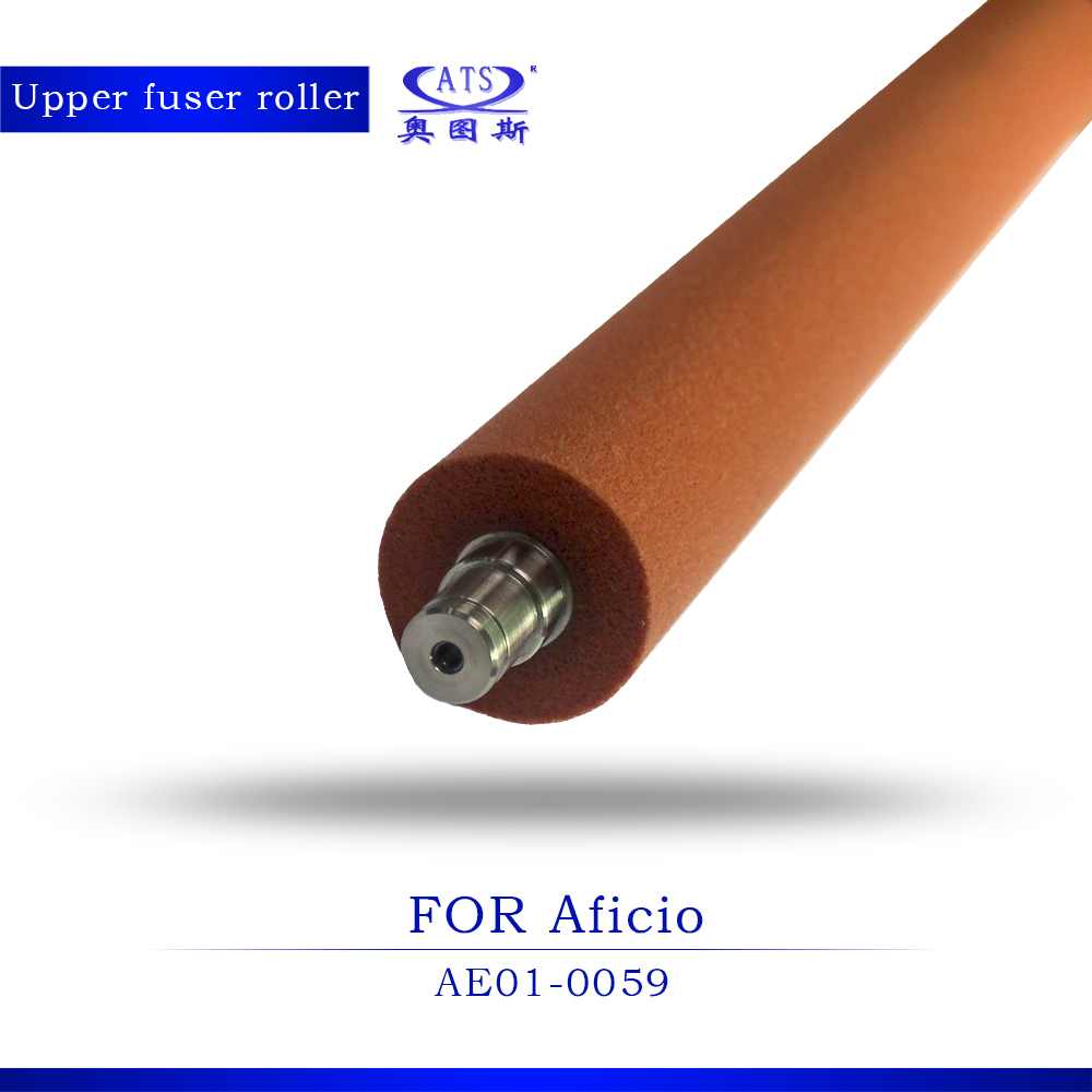 1PCS Grade A Upper Fuser Roller For Ricoh MP C3500 C4500 AE01-0059 heat roller copier parts MPC3500 MPC4500