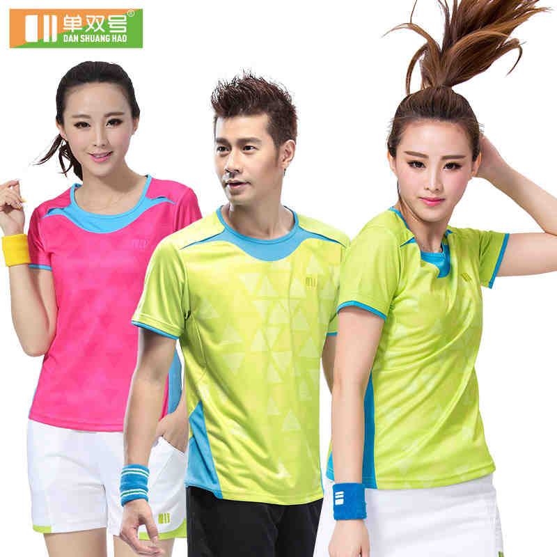 fc540011c Badminton Shirt Short Sleeve Sports Shirts Table Tennis Jersey Plus Size  Breathable Quick Dry Women Tshirt 21136-in Tennis Shirts from Sports ...