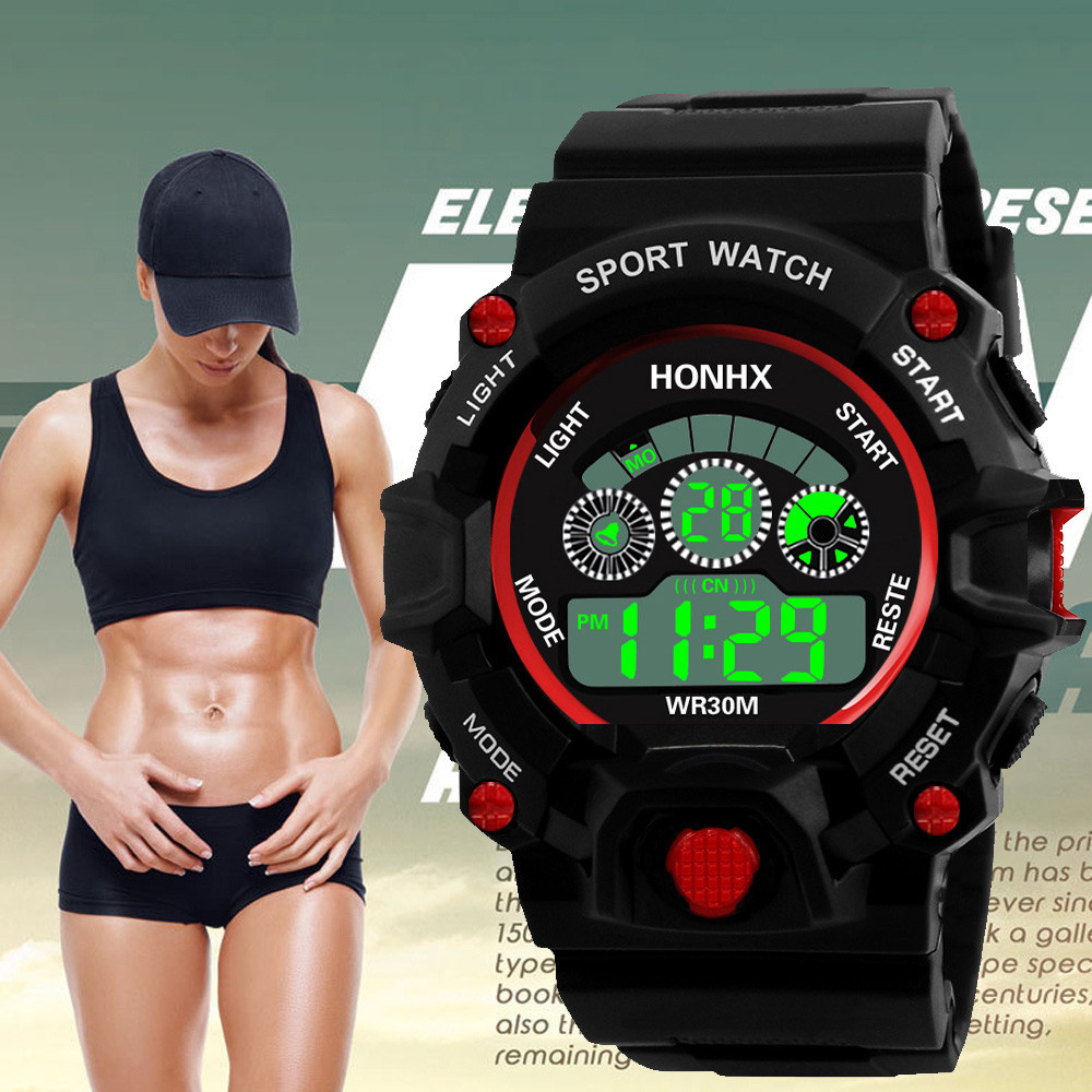 Herrenuhren FäHig Luxus Marke Herren Sport Uhren Dive 50 M Digital Led Military Uhr Männer Mode Casual Elektronik Armbanduhren Heißer Uhr Männer