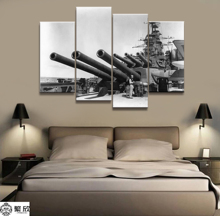4 Panel Military USS California Navy Poster Printed Painting For Living Room Wall Art Decor  Picture Artworks Poster 4 panel military uss missouri navy war weapon poster printed painting for living room wall art decor picture artworks poster
