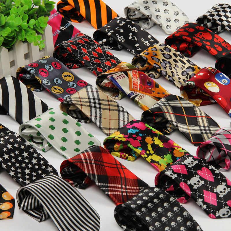 TagerWilen Coreano Casual Cravatta Al Collo Per I Bambini Del Ragazzo Strisce/Plaid/Teschio/Animale/Dot/Modello Del Fumetto per il Partito Cravatte T-250