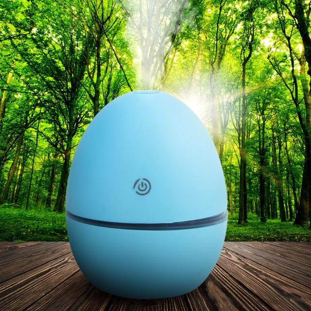LED Light Egg Shaped Aromatherapy Essential Oil Diffuser