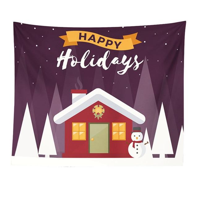 Mandala Polyester 150*130 Cm Square Permadani Gantung Dinding Karpet Melempar Yoga Tikar untuk Natal Hippie Rumah Dekorasi Kamar Tidur 227Z