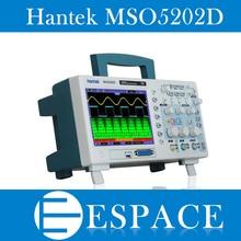 Hantek MSO5202D 200MHz 2 ערוצים 1GSa/s אוסצילוסקופ & 16 ערוצים Logic Analyzer 2in1 USB, 800x480 משלוח חינם