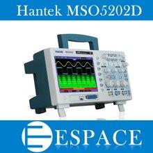 Hantek MSO5202D 200MHz 2 ช่อง 1GSa/s Oscilloscope & 16 ช่อง Logic Analyzer 2in1 USB, 800x480 ฟรีเรือ
