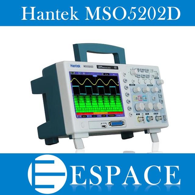 Hantek mso5202d 200 mhz 2 채널 1gsa/s 오실로스코프 및 16 채널 로직 애널라이저 2in1 usb, 800x480 무료 배송