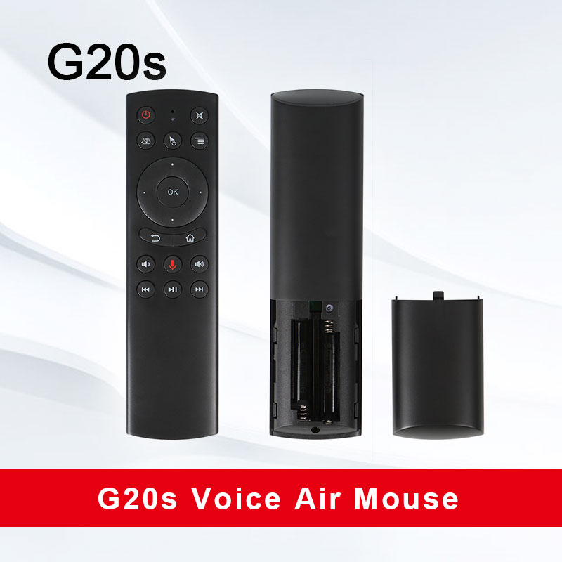 NEW G20 Voice Control 2 4G Wireless G20S Fly Air Mouse Keyboard Motion Sensing Mini Remote