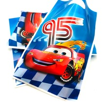 Lightning Mcqueen Gift Bags Party Supplies With Handles Wedding Birthday party decoracion 10pcs/set