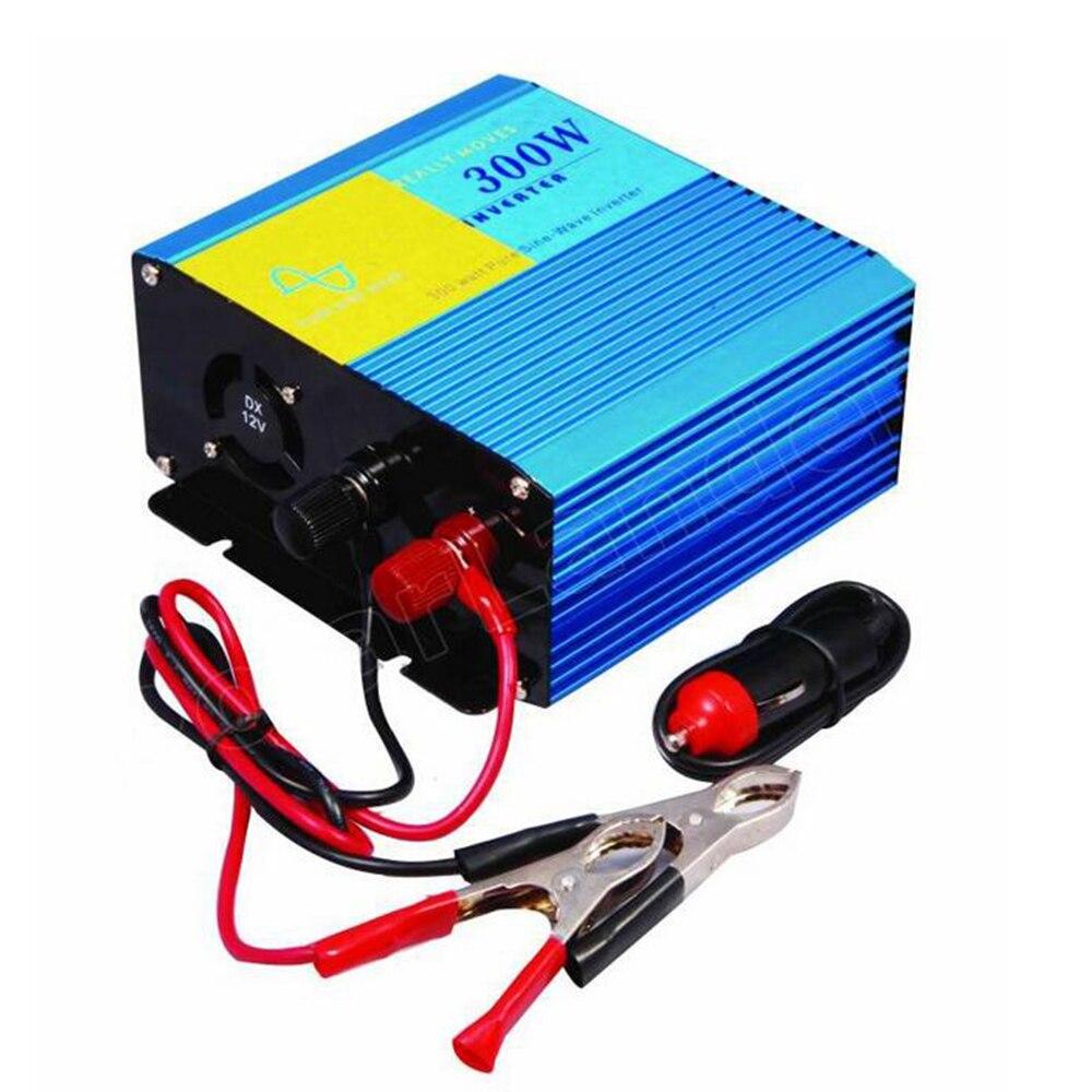 300W car charger power inverter pure sine wave converter Transformer DC12V to AC220V 50HZ Vehicle Power Supply Switch dc12v to ac220v pure sine wave power inverter 1500w dc to ac home use power inverter dc to ac car power inverter
