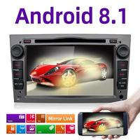 Android 8.1 2Din Car DVD GPS Navigation Autoradio for Opel Astra H G J Antara VECTRA ZAFIRA Vauxhall with CANBUS BT WIFI OBD DVR