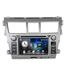 Free Shipping 6.2″ Car audio player For TOYOTA VIOS car dvd gps with car Radio Bluetooth SD USB,steering wheel
