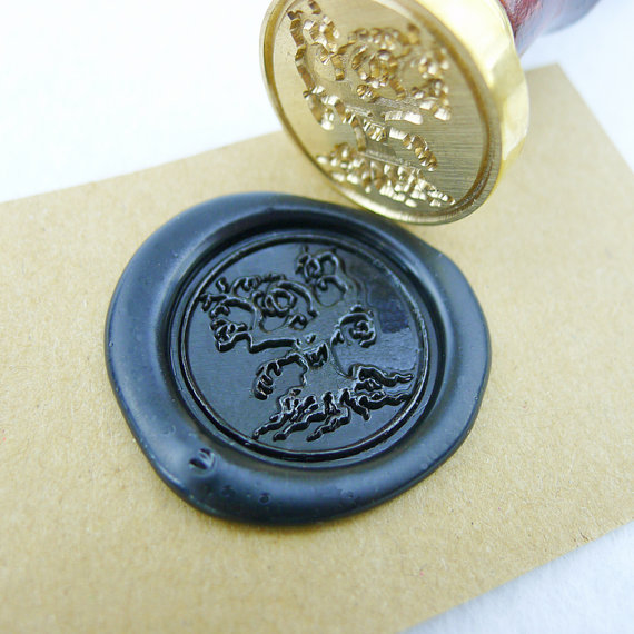 Wax Seal Stamp Halloween tree/Sealing Wax Seal/halloween theme Stamp the halloween tree