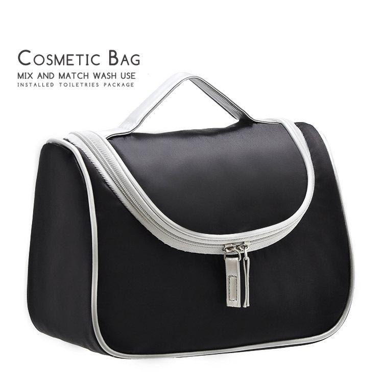 Viajes tocador cosmético del organizador del bolso necesser maleta mujer para maquillaje neceser de maquillaje vanidad con el caso
