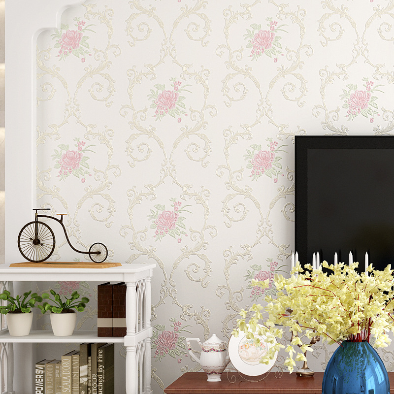 beibehang pastoral Dandelion 3D wallpaper wall papel de parede wall paper for living room bedroom TV sofa background flooring beibehang 3d wallpaper 3d european living room wallpaper bedroom sofa tv backgroumd of wall paper roll papel de parede listrado