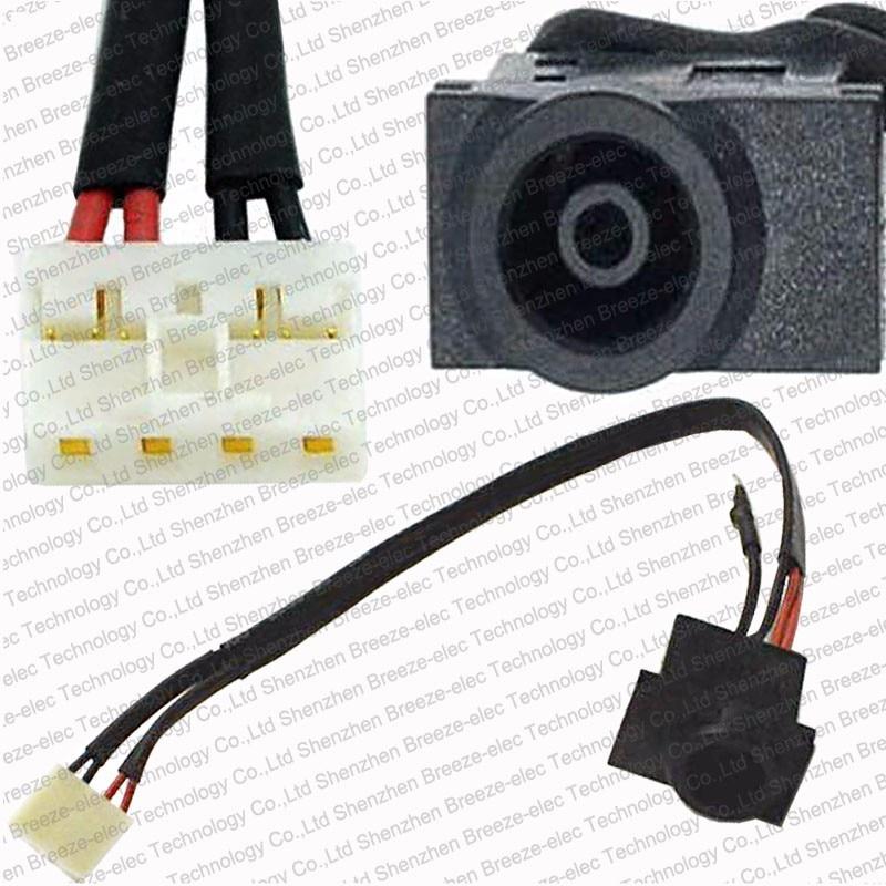 10 stuks / partij Laptop AC DC Stopcontact Jack socket met kabel - Computer kabels en connectoren - Foto 1