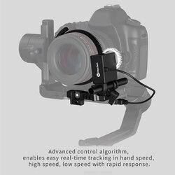 Feiyu Follow Focus, Adjustable Gear Ring Belt for DSLR Cameras Camcorder Film Video Cameras stabilizers for AK series gimbal