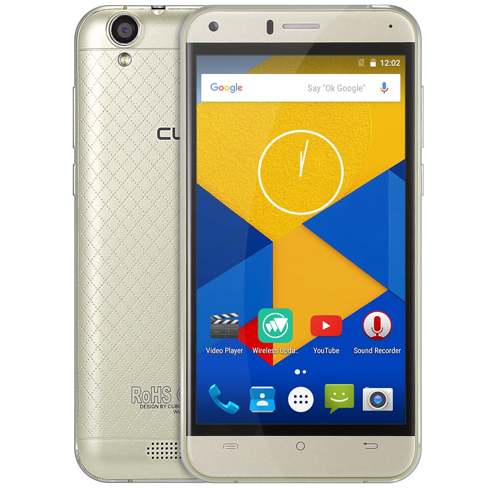 CUBOT Manito 5,0 Zoll Smartphone Android 6.0 4G MTK6737 Quad Core handy 1,3 GHz 3 GB RAM + 16 GB ROM GPS BT 4,0 Handy