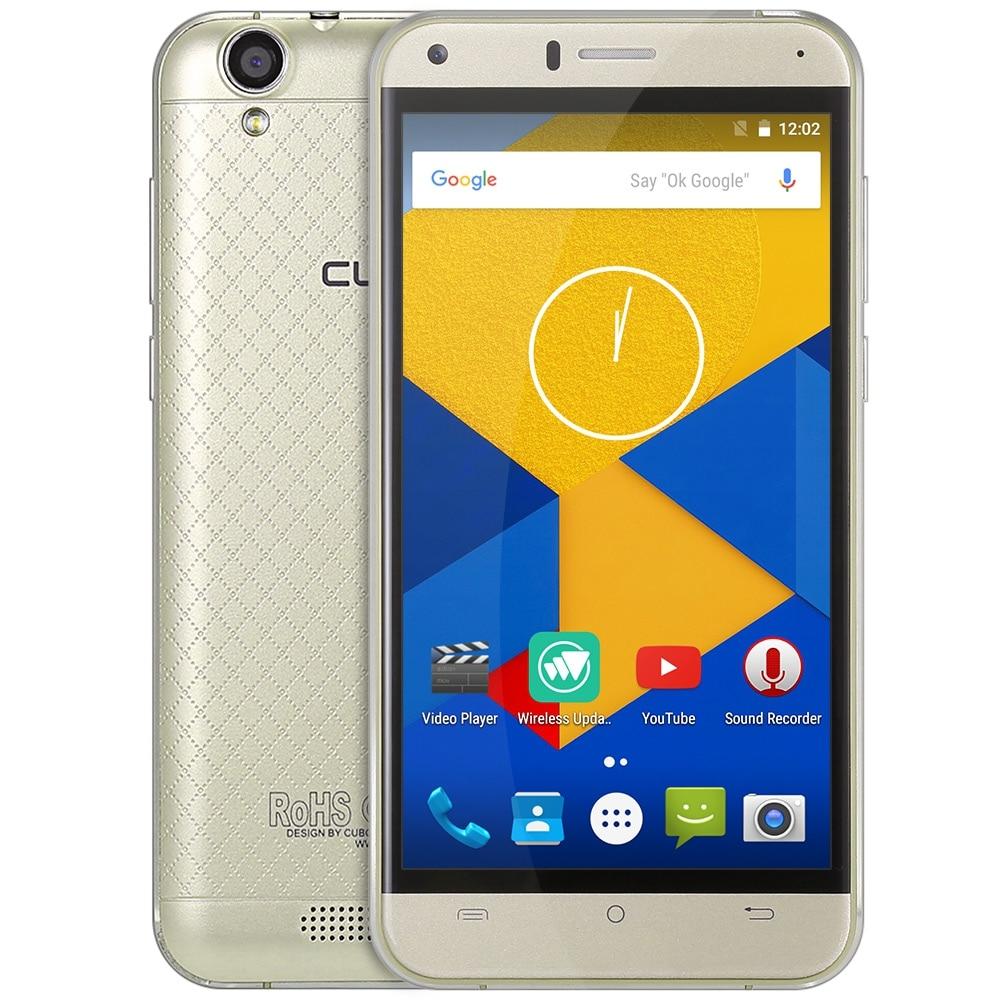 MTK6737 Manito 5.0 Polegada CUBOT Smartphone Android 6.0 4G Quad Core celular 1.3 GHz 3 GB de RAM + 16 GB ROM GPS BT 4.0 Do Telefone Móvel