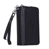 Luxury S3 Neo Real Leather Wallet Case For Samsung Galaxy S3 Duos I9300i S4 I9500 S5