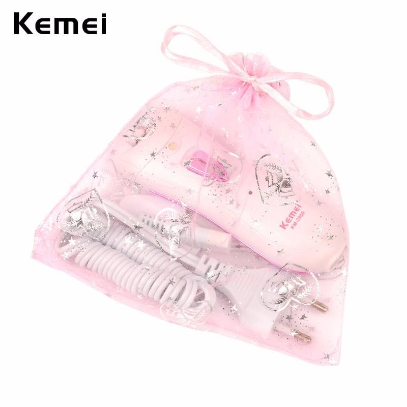 Kemei Professional Lady Depilacion Epilator Hair Remover Electric Female Depilatory for Women Leg Full Body Use Beauty Tools 21