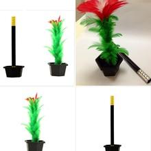 1 Набор, волшебная палочка в цветок, магический трюк, легкие Волшебные трюки, игрушки для шоу, игрушки для мальчиков, забавные игрушки для взрослых детей