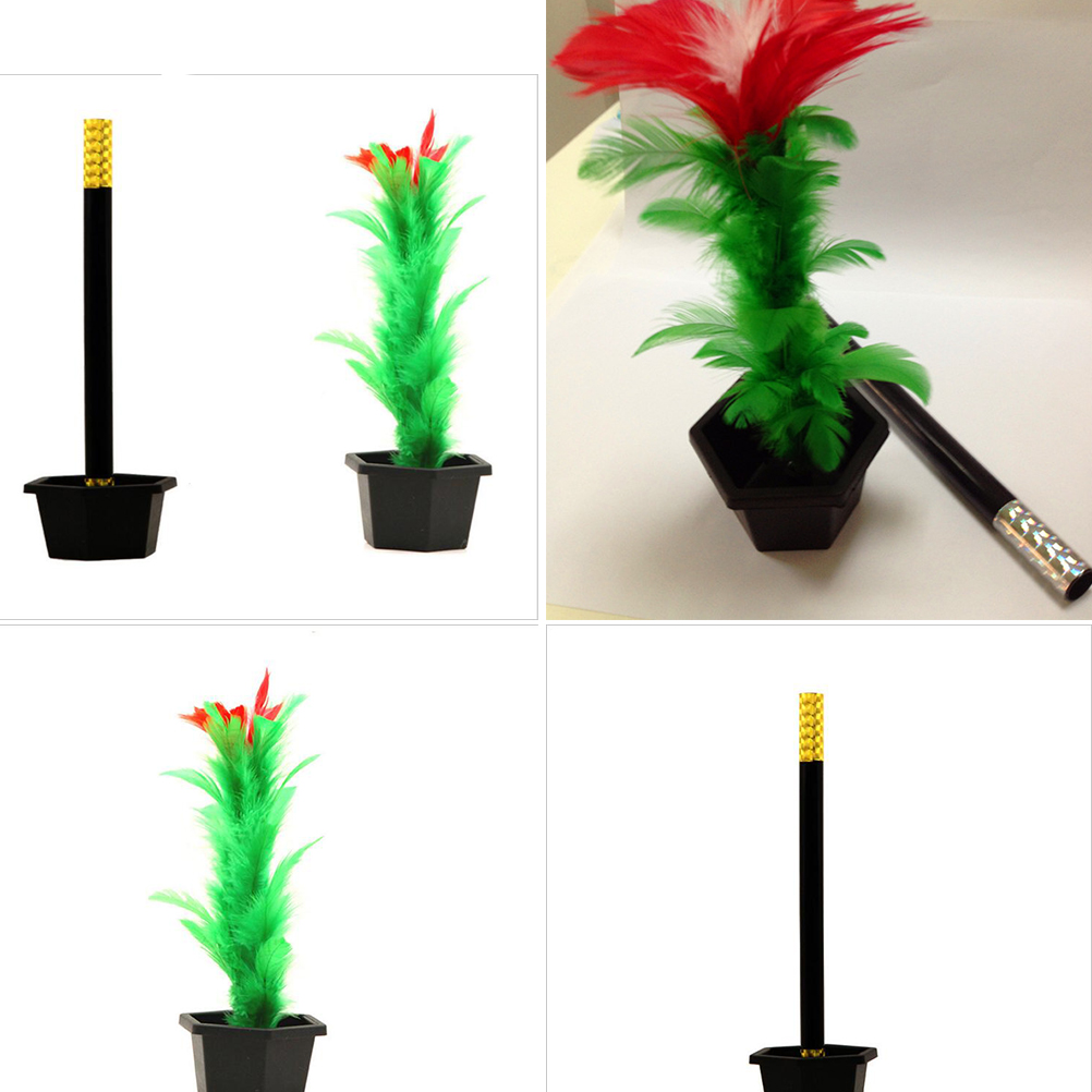 1 Set Magic Wand To Flower Magic Trick Easy Magic Tricks Toys Show Prop Toys For Boys Funny Toys For Adults Kids