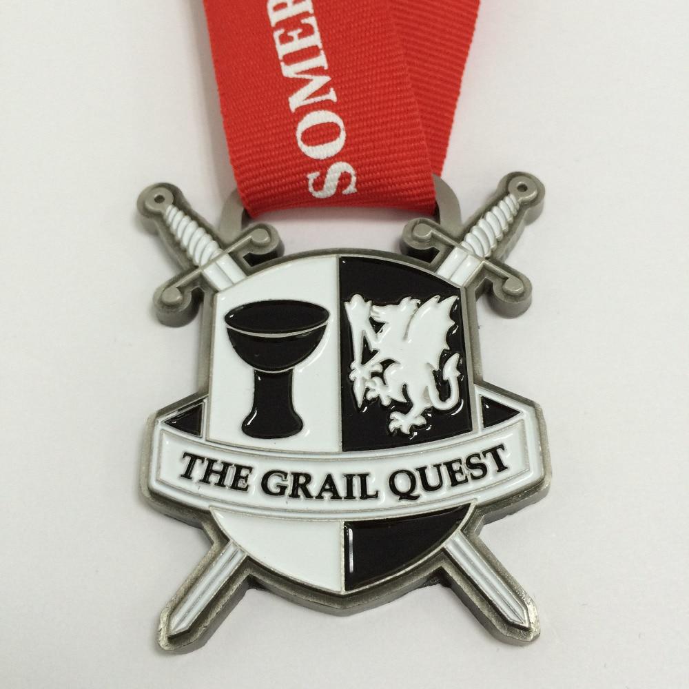 Custom-made Medal In 2 Inches Diameter In Mushy Enamel As Award Medal /500Pcs Package deal Deal