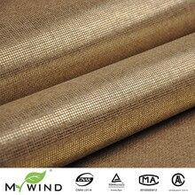 Продвижение ligth золотой бежевый grasscloth бумага переплетения стены Бумага текстурированная натуральная ткань обои для гостиной украшения дома