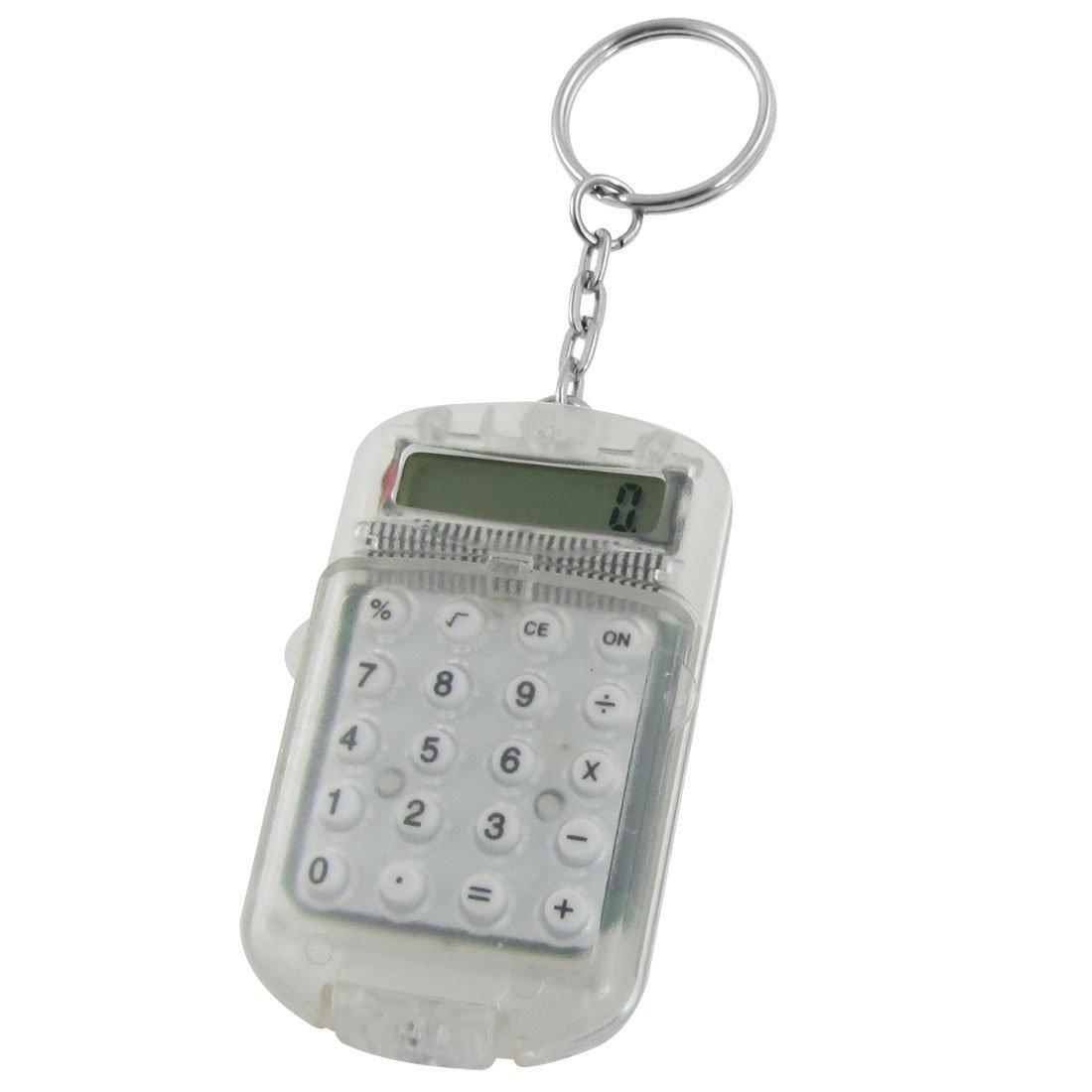 Ясно Пластик корпус 8 цифр электронный мини-калькулятор w брелок