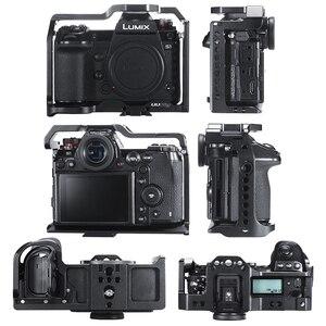 Image 5 - Uurig C S1 Khung Máy Ảnh Cho Panasonic S1/S1R Lumix S1R S1 Bảo Vệ Nhà Ở Video Vlog Lồng Giày Lạnh Núi 1/4 3/8 Arca