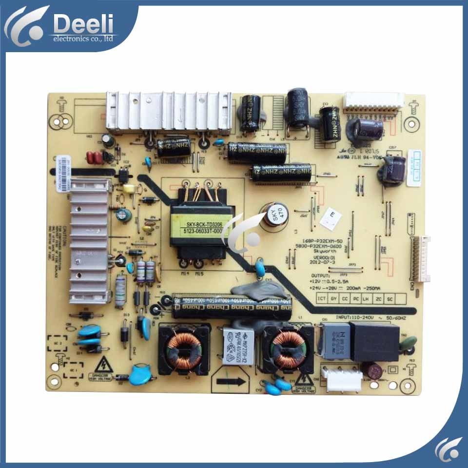 High quality power board  32E350E 168P-P32EXM-50 5800-P32EXM-0600 used board work ok 5800 p42tlk 0160 168p p42tlk 15 original led power board