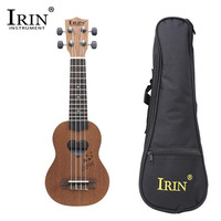 IRIN 17 Mini Ukulele Spruce/Sapele Top Rosewood Fretboard Stringed Instrument 4 Strings with Gig Bag For Kids Beginners Gifts