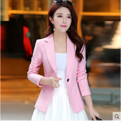 Autumn Slim Lady Small Suit...
