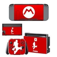 Super Mario Skin Sticker for NintendoSwitch Sticker Skin for Nintendo Nintendo Switch NS Console and Joy-Con Controller Vinyl
