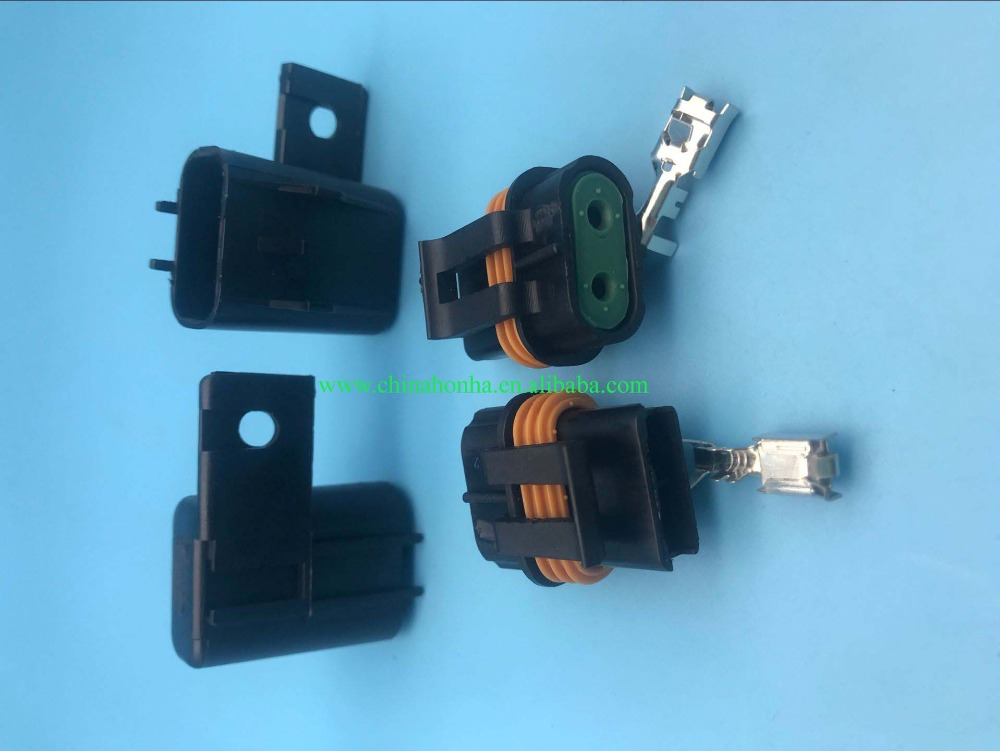 2 Way 12033769 54200521 12033731 Female And Male Sealed Connectors For Delphi Fuse Wire Harness Automotive: Delphi Automotive Wiring Harness At Jornalmilenio.com