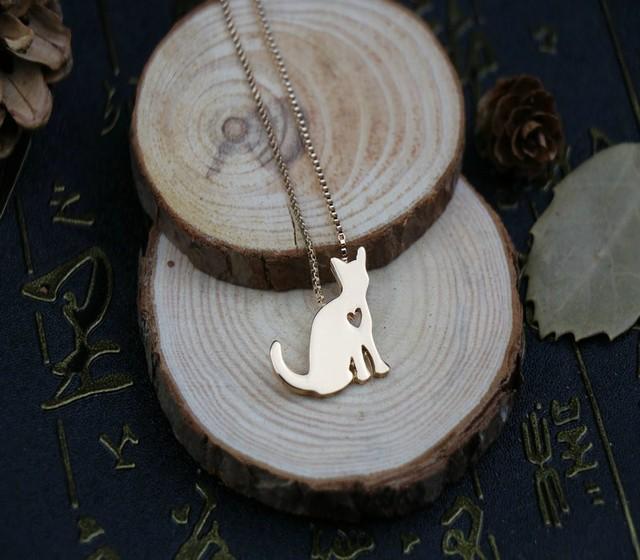 Фото ожерелье для кошки с подвеской в виде животных подарок на день цена