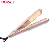 Cheap price New Fashion Salon Quality 2-in-1 Hair Curling & Straightening Iron Hair Curler Flat Iron Hair Straightener