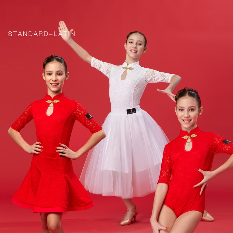 3 pcs girls dance costume for kids salsa dress girl latin dance dress kids latin dresses dance wear latin ballroom dress 2016 sale new knee length kids kids dresses for girls free shipping2013 fashion dance dressperformance wear costumes th3004c