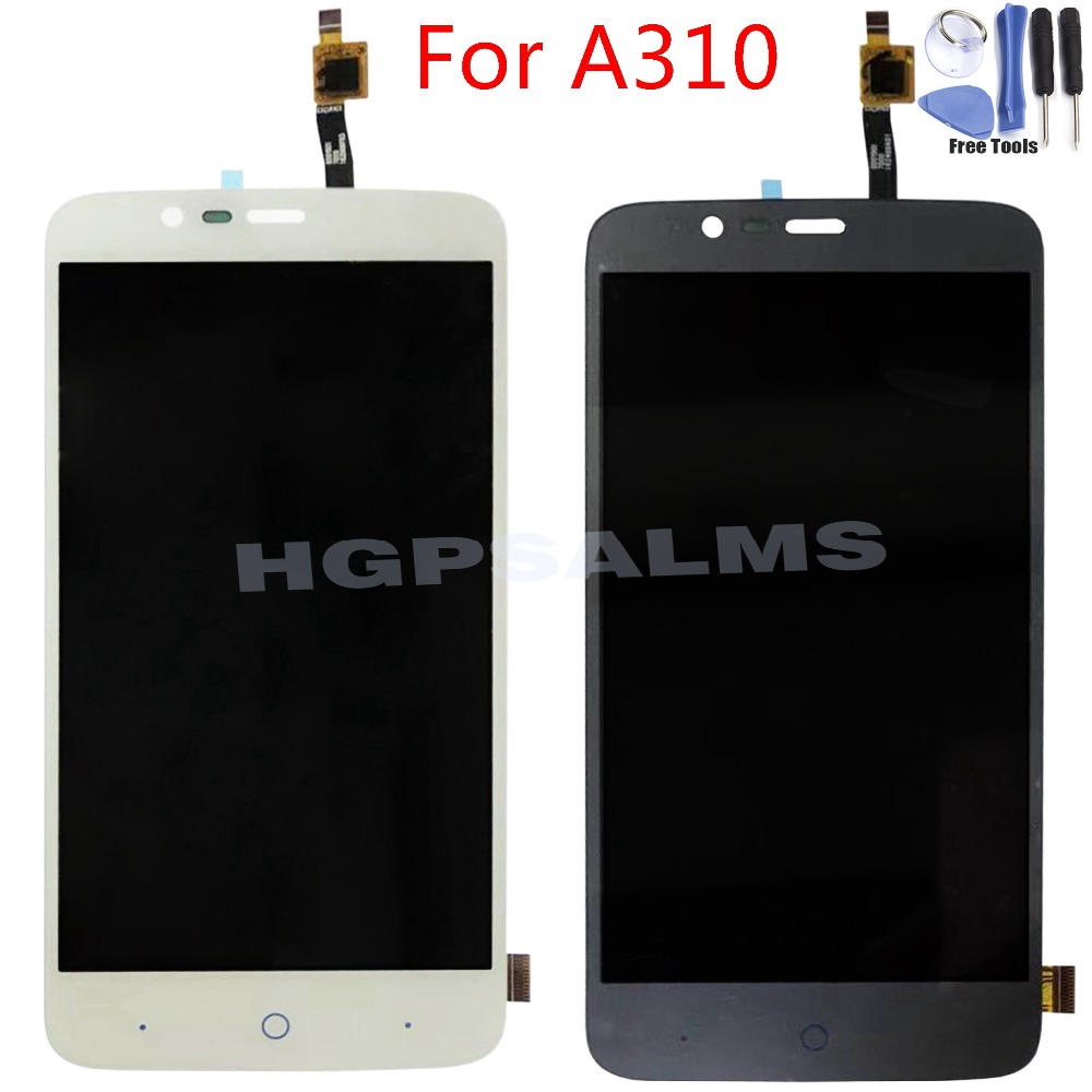 Für ZTE Blade <font><b>A310</b></font> <font><b>LCD</b></font> Display Touchscreen Digitizer Panel Glas Sensor Montage image