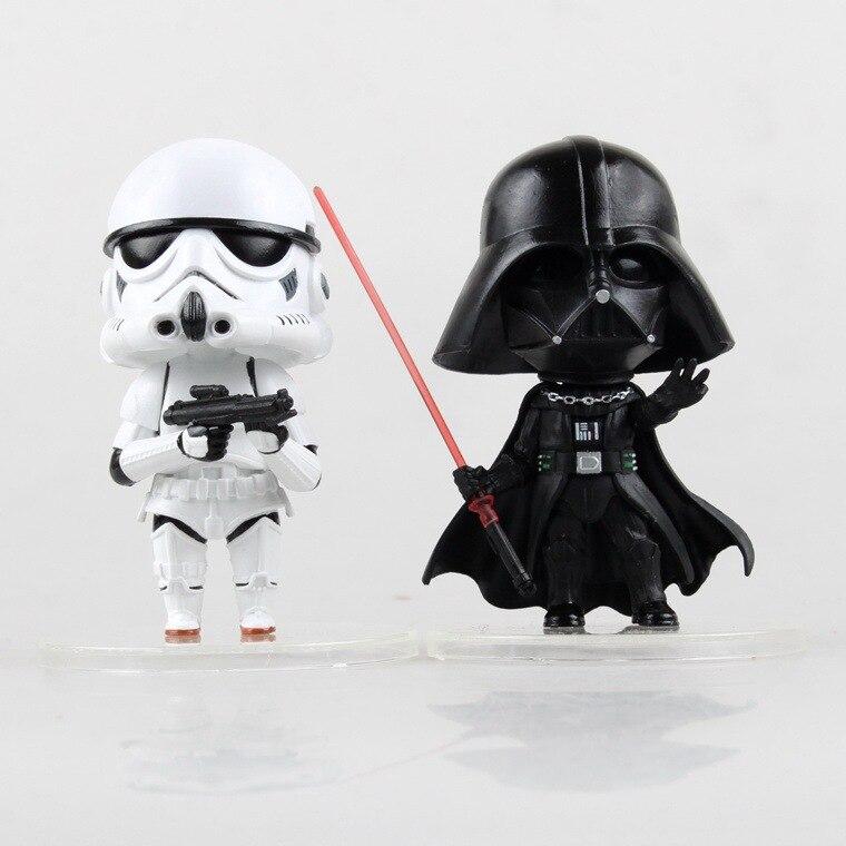 888e870da Star Wars Vigor Desperta Black Knight Darth Vader & STORM TROOPER  Stormtrooper Action Figure Modelo Toy Kids Presentes Juguetes KB0131