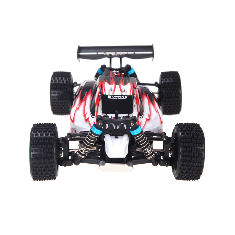 WLtoys A959 Electric Rc Car Nitro 1/18 2.4Ghz 4WD Remote Control Car High Speed Off Road Racing Car Monster Truck For Kids-Red hsp rc car 1 8 nitro power remote control car 94862 4wd off road rally short course truck rtr similar redcat himoto racing