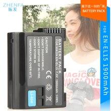 Батареи EN-EL15 EN EL15 ENEL15 Камера аккумулятор Для Nikon D600 D610 D810 D7000 D7100 D800 D800E D600E d750 V1 MH-25 bateria