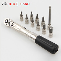BIKEHAND Torque Wrench 10In1 Bicycle Tool Kit Bike Portable MTB Hex Keys Cross T25 T10 Screwdriver