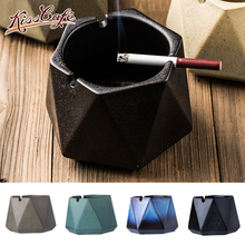1Pc Nordic Style Ashtray Creative Ceramic Cigar Smoking Cigarette Home Desktop Decor