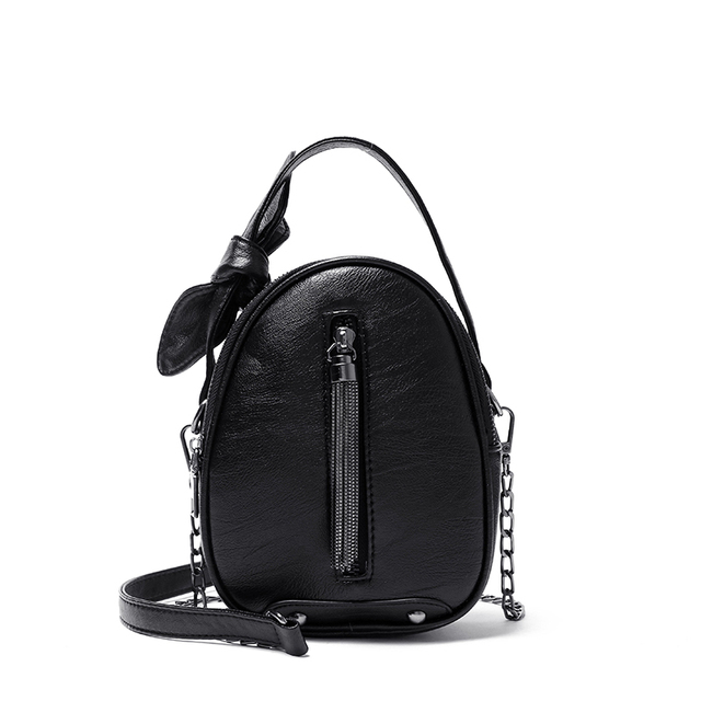 Women Mini Shoulder Bag PU...