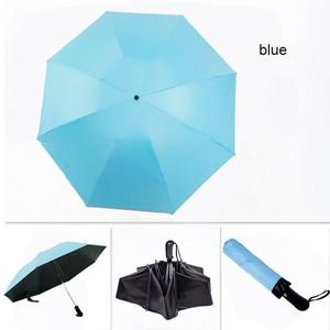 Image 5 - 8 costela totalmente automático guarda chuva masculino e feminino à prova de vento 3 dobrável ensolarado e chuva carro anti chuva reverso guarda chuvas