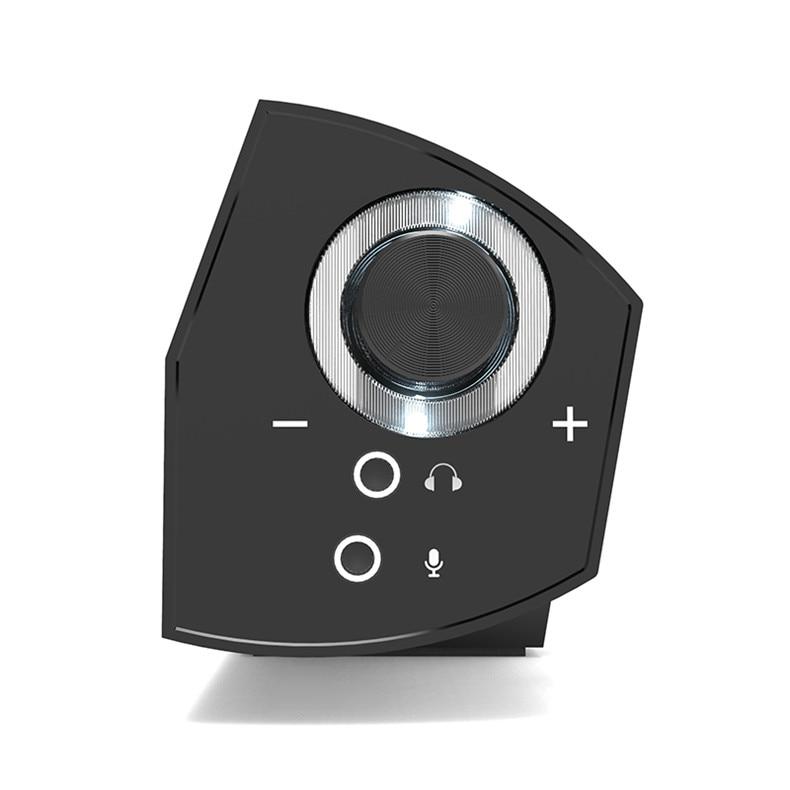 LONPOO Luidsprekers 10 W MP3 USB Luidspreker Hoofdtelefoon Soundbar - Draagbare audio en video - Foto 5