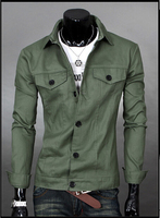 2015 New Autumn Winter Men S Denim Jacket Men Coat Casual Style Men S Designer Fashion