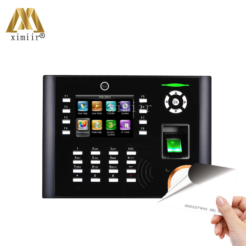 Free Shipping Iclock680/660 Fingerprint Time Attendance Access Control With Camera RFID Card And 3G,ADMS Free SDK And Sofware