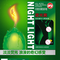 HoozGee Night Light Condom 3pcs Luminous Condoms + 4pcs Ultrathin Condoms Fluorescence Special Condoms Medical Themed Sex Toys